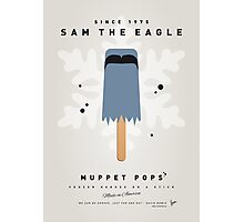 My MUPPET ICE POP - Sam the eagle Photographic Print