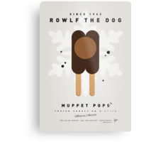 My MUPPET ICE POP - Rowlf Metal Print