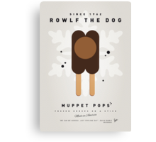 My MUPPET ICE POP - Rowlf Canvas Print