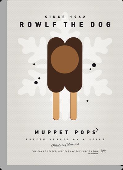 My MUPPET ICE POP - Rowlf by Chungkong