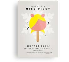 My MUPPET ICE POP - Miss Piggy Metal Print
