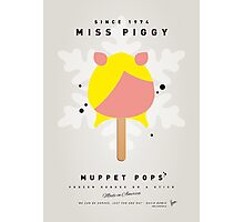 My MUPPET ICE POP - Miss Piggy Photographic Print