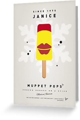 My MUPPET ICE POP - Janice by Chungkong