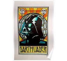 Darth Vader Art Nouveau Poster