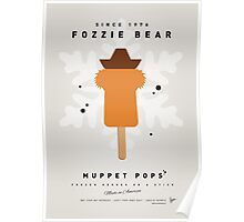 My MUPPET ICE POP - Fozzie Bear Poster