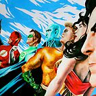 Alex Ross' Justice League by weronikart
