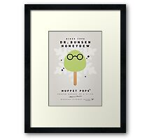 My MUPPET ICE POP - Dr Bunsen Honeydew Framed Print