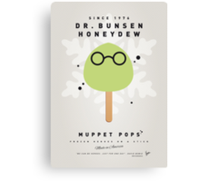 My MUPPET ICE POP - Dr Bunsen Honeydew Canvas Print