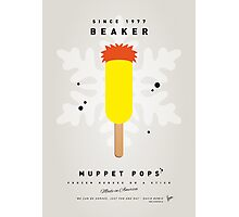 My MUPPET ICE POP - Beaker Photographic Print