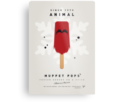 My MUPPET ICE POP - Animal Metal Print