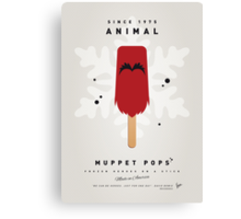 My MUPPET ICE POP - Animal Canvas Print