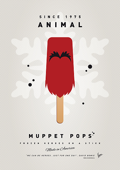 My MUPPET ICE POP - Animal by Chungkong