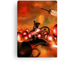 The Iron Beasts of Mars Canvas Print