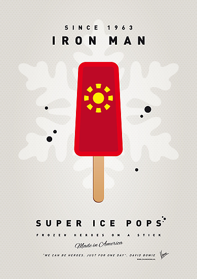My SUPERHERO ICE POP - Iron Man by Chungkong