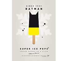 My SUPERHERO ICE POP - BATMAN Photographic Print