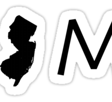 NEW JERSEY HOME Sticker