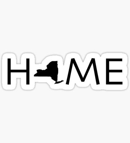 NEW YORK HOME Sticker