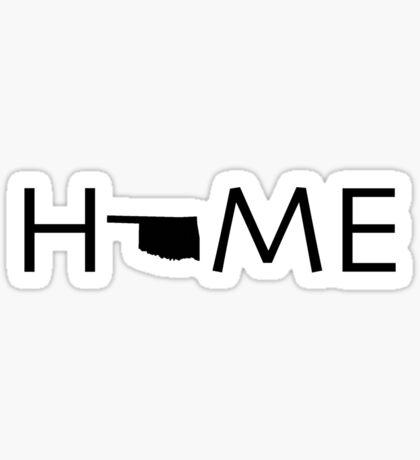 OKLAHOMA HOME Sticker
