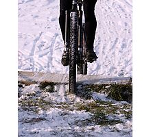 Snow Run  Photographic Print