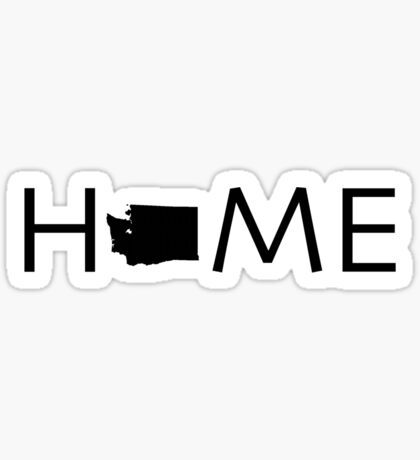 WASHINGTON HOME Sticker