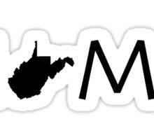 WEST VIRGINIA HOME Sticker