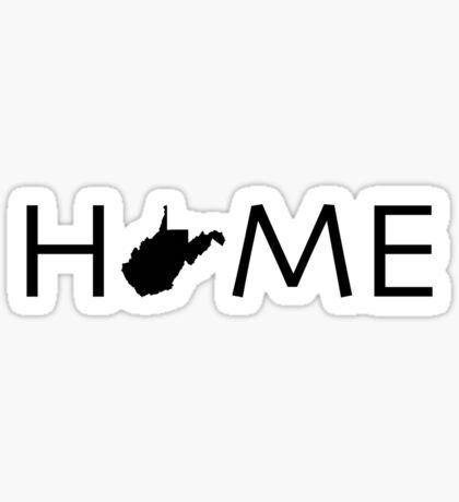 WEST VIRGINIA HOME Sticker