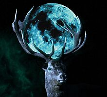 Moon Deer by Jasmine Curtis