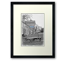 Hadlow Blue Framed Print