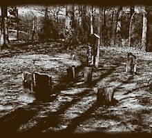 Tintype Cemetery by Otto Danby II