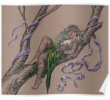 Tattooed Tree Elf - Just Hanging Around Poster