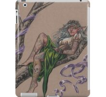 Tattooed Tree Elf - Just Hanging Around iPad Case/Skin