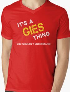 it is GIES thing you wouldn't understand Mens V-Neck T-Shirt