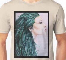 Copic Marker Portrait Unisex T-Shirt