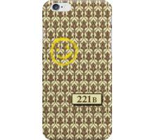221B Sherlock Inspired Wallpaper iPhone Case/Skin