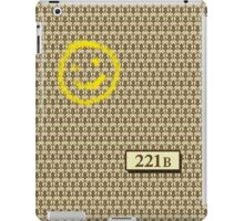 221B Sherlock Inspired Wallpaper iPad Case/Skin