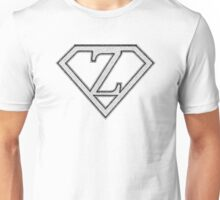 Z letter in Superman style Unisex T-Shirt