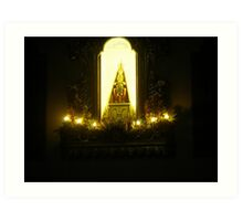 Lights in the Sanctuary Art Print