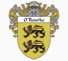O'Rourke Coat of Arms / O'Rourke Family Crest by William Martin