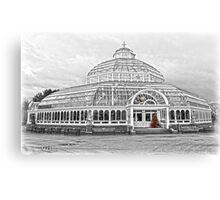 The Palm House Sefton Park Canvas Print