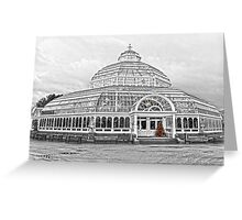 The Palm House Sefton Park Greeting Card