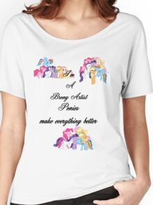 artist brony Women's Relaxed Fit T-Shirt