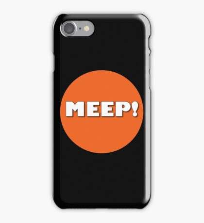 MEEP! iPhone Case/Skin