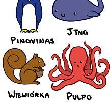 Language animals by spiltsparks