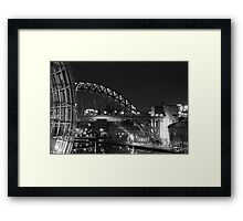 The Sage & Tyne Bridge Framed Print
