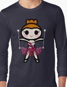"""Trixie"" Baton Twirler Long Sleeve T-Shirt"