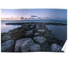 Key West Sunrise at the Dock Poster