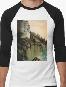 Castle Falls Men's Baseball ¾ T-Shirt