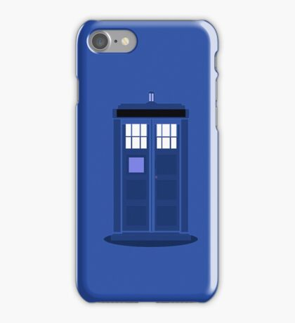 TARDIS: Time and Relative Dimension in Space iPhone Case/Skin