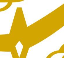 Citrus Samurai (Gold) Sticker