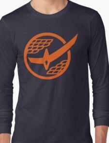 Citrus Samurai (Orange) Long Sleeve T-Shirt